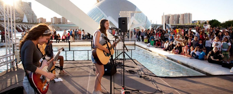 Concert at the City of Arts and Sciences