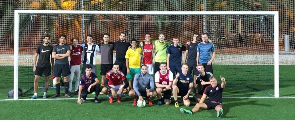 Voetbal wedstrijd Avans Den Bosch 3.0